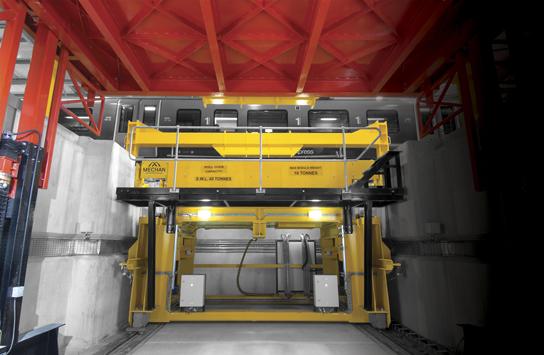 Mechan Bogie Drop - Siemens Ardwick Depot