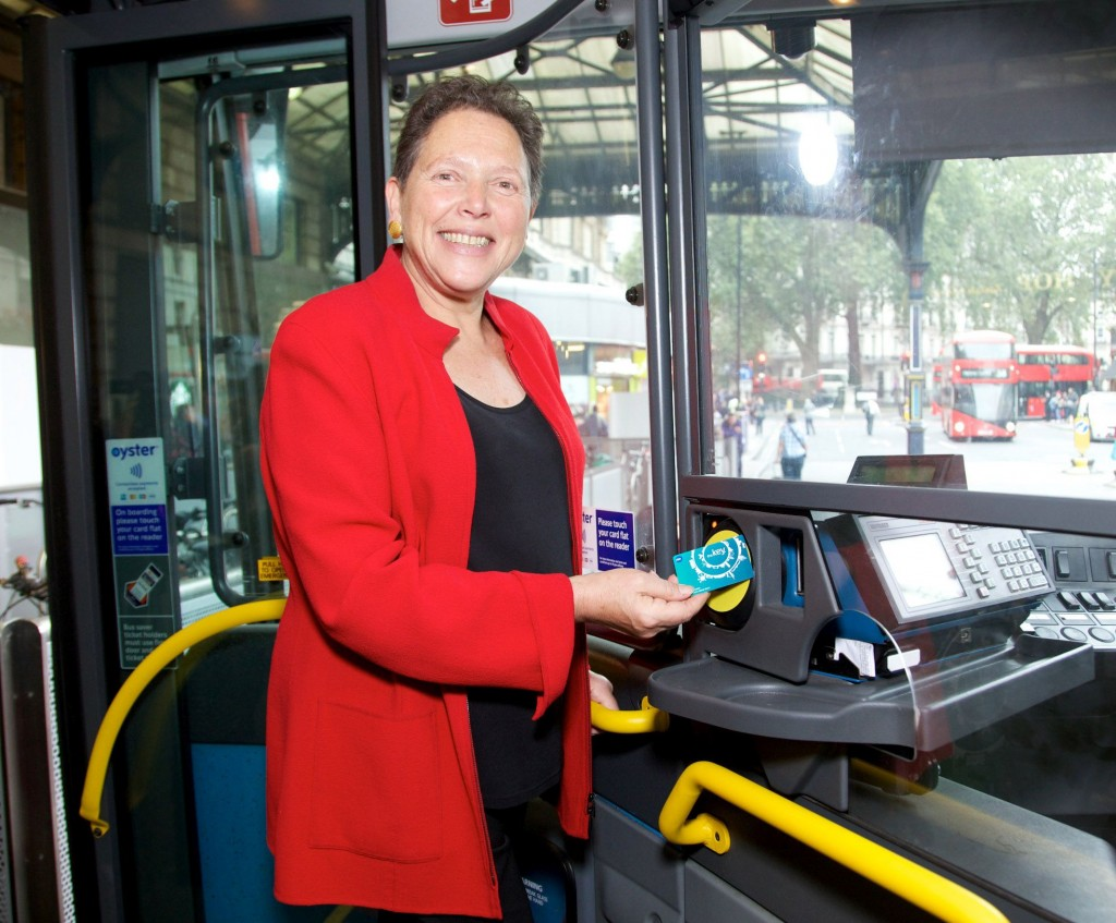 Baroness Kramer with Southerns Smart Card