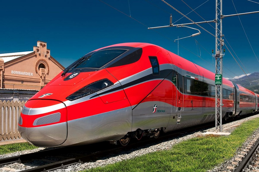 V300ZEFIRO very high speed trains, known in Italy as the Frecciarossa 1000