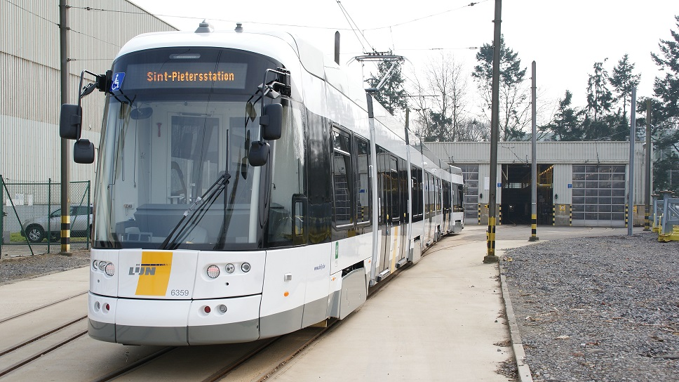 Belgian transport operator De Lijn has ordered 88 BOMBARDIER FLEXITY 2 trams