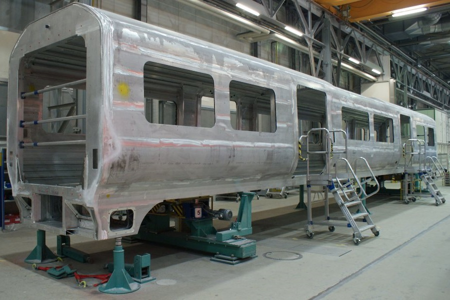 Siemens-built Class 707 Desiro City trains