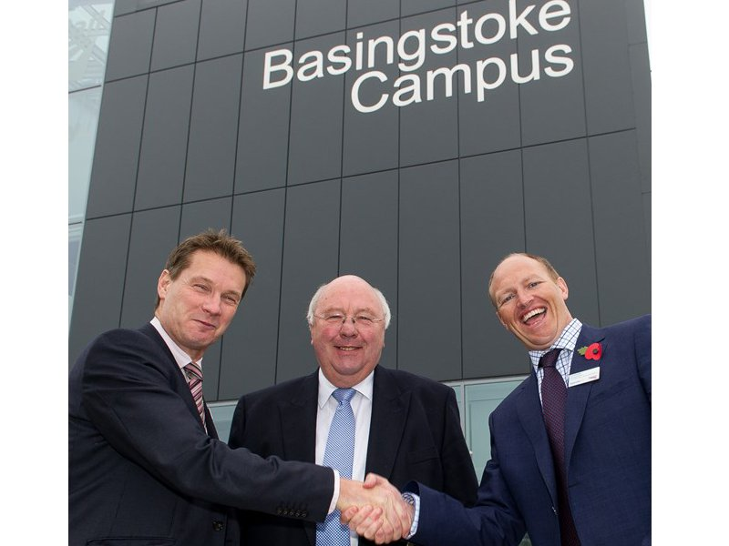 New training campus will bring together South West Trains and Network Rail staff under one roof