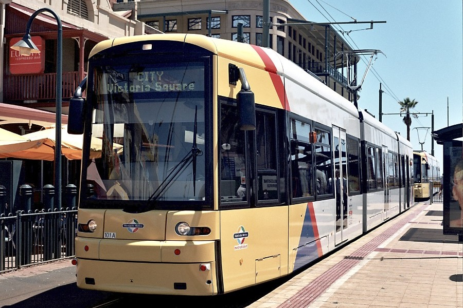 FLEXITY tram, Adelaide, Australia