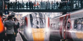 virgin Azuma train