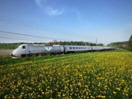 The X 2000 high-speed train operated by Swedish company SJ AB is to be comprehensively modernized by Knorr-Bremse over the next few years. © SJ AB