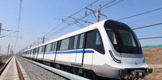 MOVIA metro train