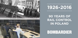 Rail technology leader Bombardier Transportation is, celebrating its 90th anniversary of rail control leadership in Poland