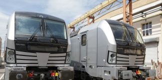 Vectron for Railpool at the Siemens manufacturing plant in Munich-Allach