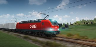 Die Österreichischen Bundesbahnen (ÖBB) haben mit Siemens einen Rahmenvertrag über die Lieferung von bis zu 200 Lokomotiven des Typs Vectron abgeschlossen. Es können bis zu 100 Wechselstrom (AC)-Lokomotiven, 50 Wechselstrom (AC)-Lokomotiven mit Dieselpower-Modul und 50 Mehrsystem (MS)-Lokomotiven abgerufen werden. Bei Vertragsschluss wurden 30 Vectron MS fest bestellt. Die Fahrzeuge sollen im Siemens-Werk in München, gefertigt werden. Die Auslieferung der ersten Fahrzeuge beginnt im Sommer 2018. Austrian Railways (ÖBB) has signed a framework contract with Siemens for the delivery of up to 200 Vectron locomotives. Under the contract, up to 100 alternating current (AC) locomotives, 50 alternating current (AC) locomotives with diesel power modules, and 50 multisystem (MS) locomotives can be called up. A firm order for 30 MS locomotives was placed at the signing. The locomotives will be built in the Siemens plant in Munich-Allach, Germany. The first units are to be delivered beginning in summer of 2018.