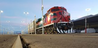 Alstom to provide maintenance to freight locomotives in Mexico. Copyright Ferromex