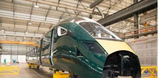 InterCity Express Train bodyshell in Italy