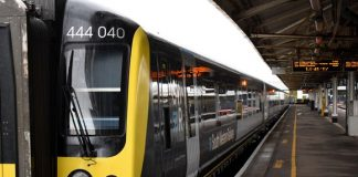 All aboard as first South Western Railway refurbished long distance train enters passenger service